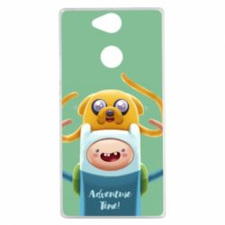 Чехол для Sony Xperia XA2 Finn and Jake Art - FatLine