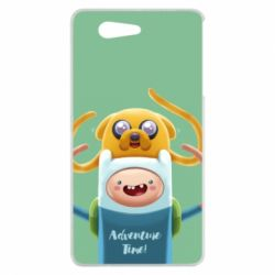 Чехол для Sony Xperia Z3 mini Finn and Jake Art - FatLine