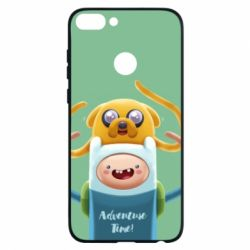 Чехол для Huawei P Smart Finn and Jake Art - FatLine