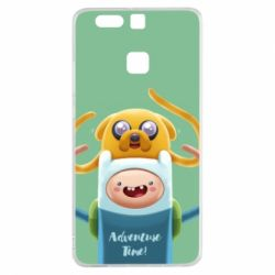 Чехол для Huawei P9 Finn and Jake Art - FatLine