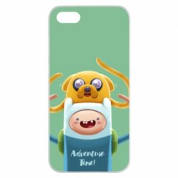Чехол для Huawei Y5 2018 Finn and Jake Art - FatLine