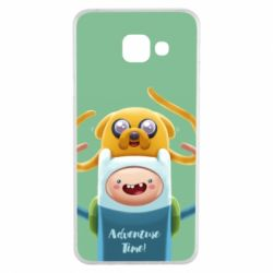 Чехол для Samsung A3 2016 Finn and Jake Art - FatLine