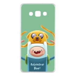 Чехол для Samsung A7 2015 Finn and Jake Art - FatLine