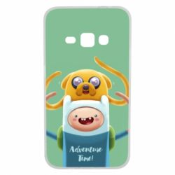 Чехол для Samsung J1 2016 Finn and Jake Art - FatLine