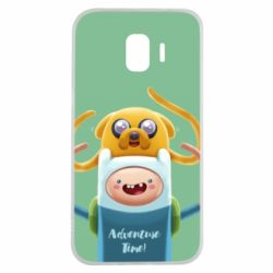 Чехол для Samsung J2 2018 Finn and Jake Art - FatLine
