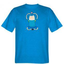 Мужская футболка Finn dancing - FatLine