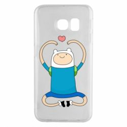 Чехол для Samsung S6 EDGE Finn dancing