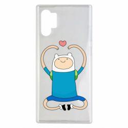 Чехол для Samsung Note 10 Plus Finn dancing