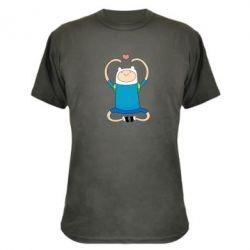 Камуфляжная футболка Finn dancing - FatLine