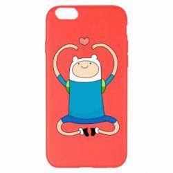 Чехол для iPhone 6 Plus/6S Plus Finn dancing