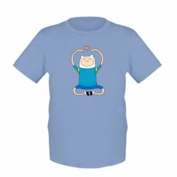 Детская футболка Finn dancing - FatLine