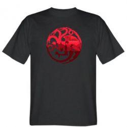 Мужская футболка Fire and Blood