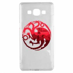 Чехол для Samsung A5 2015 Fire and Blood