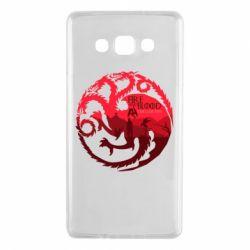 Чехол для Samsung A7 2015 Fire and Blood