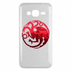 Чехол для Samsung J3 2016 Fire and Blood