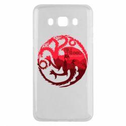 Чехол для Samsung J5 2016 Fire and Blood