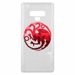 Чехол для Samsung Note 9 Fire and Blood