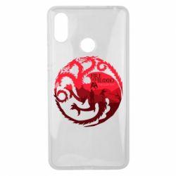 Чехол для Xiaomi Mi Max 3 Fire and Blood