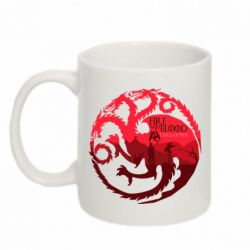 Кружка 320ml Fire and Blood - FatLine