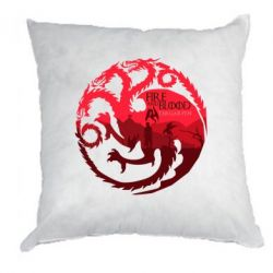 Подушка Fire and Blood - FatLine