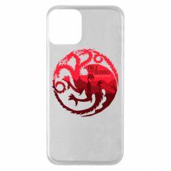 Чехол для iPhone 11 Fire and Blood