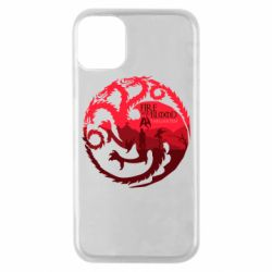 Чехол для iPhone 11 Pro Fire and Blood