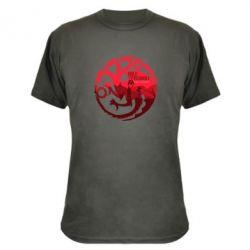 Камуфляжная футболка Fire and Blood