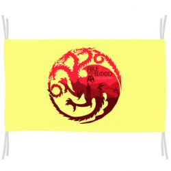 Флаг Fire and Blood
