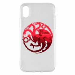 Чехол для iPhone X/Xs Fire and Blood