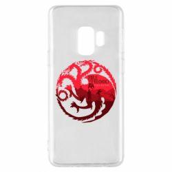 Чехол для Samsung S9 Fire and Blood