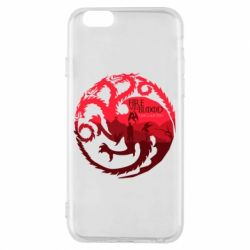 Чехол для iPhone 6/6S Fire and Blood