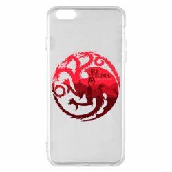 Чехол для iPhone 6 Plus/6S Plus Fire and Blood