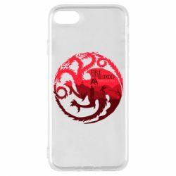 Чехол для iPhone 8 Fire and Blood