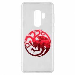 Чехол для Samsung S9+ Fire and Blood