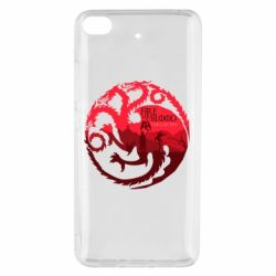 Чехол для Xiaomi Mi 5s Fire and Blood
