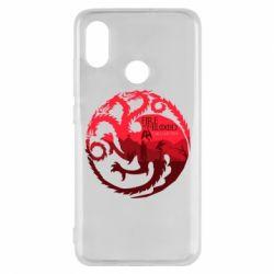 Чехол для Xiaomi Mi8 Fire and Blood