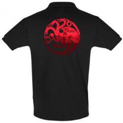 Мужская футболка поло Fire and Blood