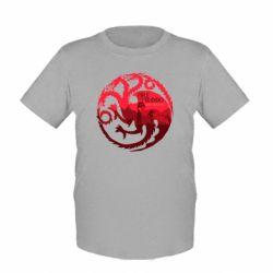 Детская футболка Fire and Blood