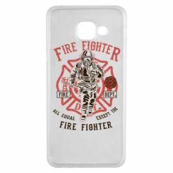 Чохол для Samsung A3 2016 Fire Fighter