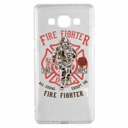 Чохол для Samsung A5 2015 Fire Fighter