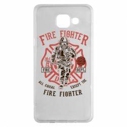 Чохол для Samsung A5 2016 Fire Fighter