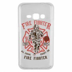 Чохол для Samsung J1 2016 Fire Fighter