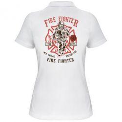 Жіноча футболка поло Fire Fighter