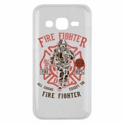 Чохол для Samsung J2 2015 Fire Fighter