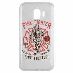 Чохол для Samsung J2 2018 Fire Fighter