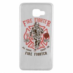Чохол для Samsung A7 2016 Fire Fighter