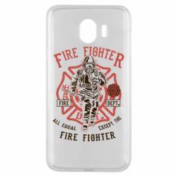 Чохол для Samsung J4 Fire Fighter