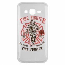 Чохол для Samsung J5 2015 Fire Fighter
