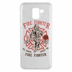 Чохол для Samsung J6 Fire Fighter