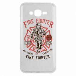 Чохол для Samsung J7 2015 Fire Fighter